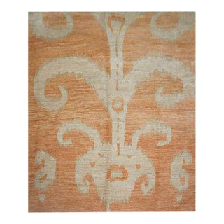 "Hand Knotted Ikat Rug by Aara Rugs Inc. 9'2"" X 11'9"""