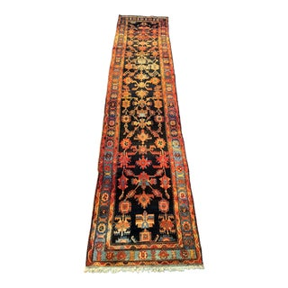 "Vintage Persian Malayer Runner Rug - 3'3""x13'9"""