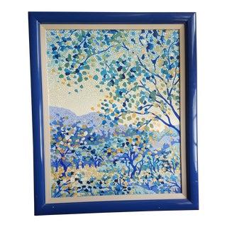 "L. Wallis' ""Verano"" Painting"
