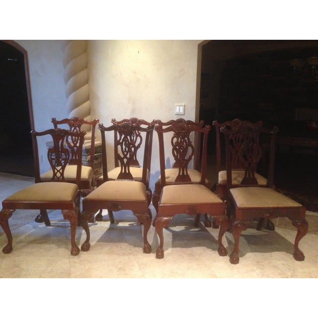 Hickory Chair Mt. Vernon Dining Chairs - Set of 8 - Image 2 of 8