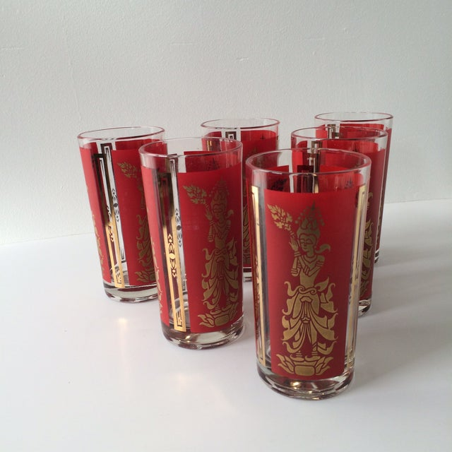 Image of Vintage Highball Glasses - Set of 6