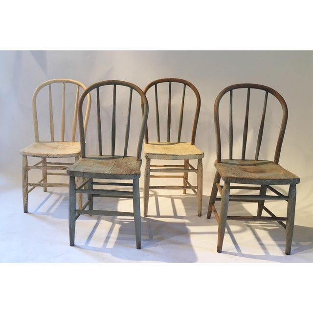 Farm House Dining Chairs - Set of 4 - Image 3 of 6