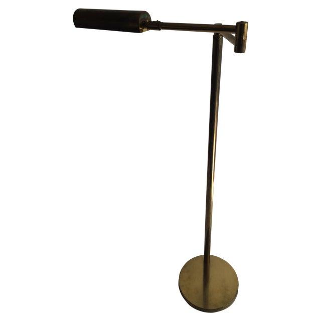 Koch + Lowy Brass Floor Lamp - Image 1 of 9