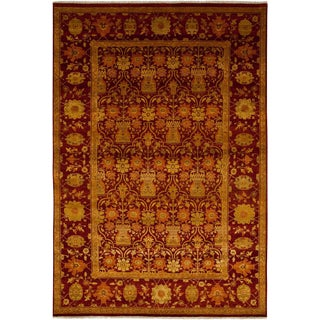 """Ottoman Hand Knotted Area Rug - 6'1"""" X 8'10"""""""