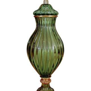 Marbro Elegant Murano Lamp by Seguso