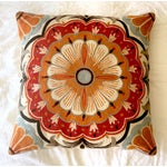 Image of Large Suzani Crewelwork Pillow