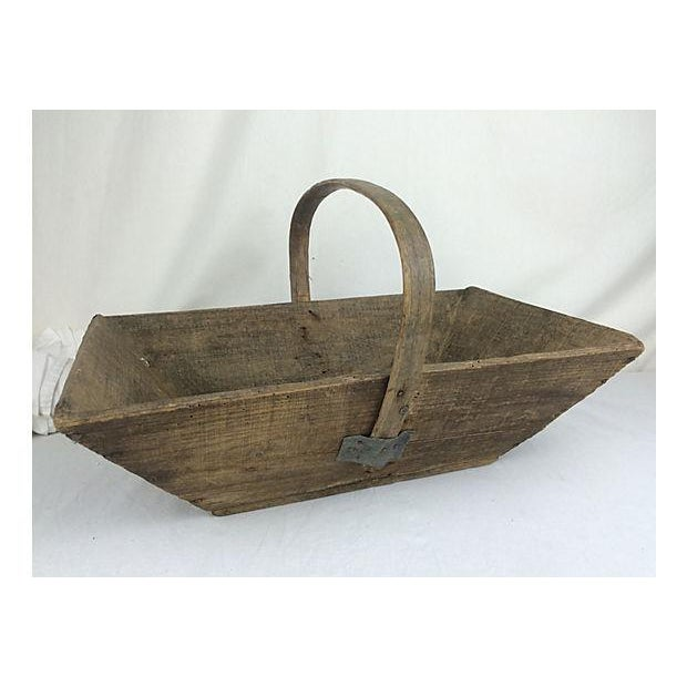French Garden Trug Basket - Image 2 of 3