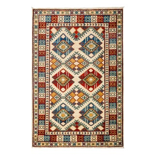 """New Tribal Traditional Hand Knotted Area Rug - 3'10"""" x 5'10"""""""