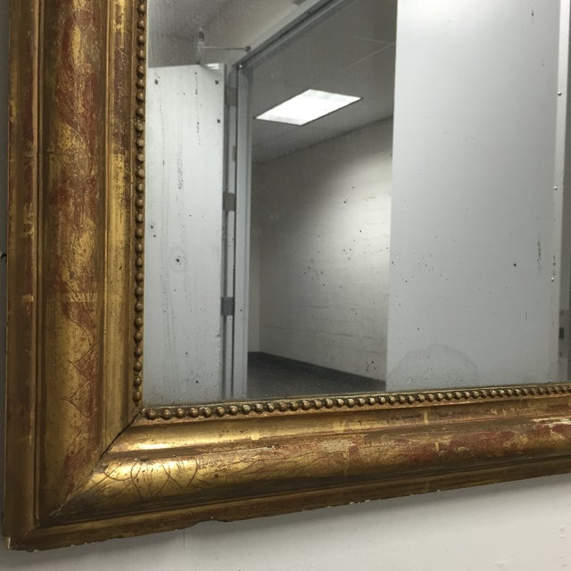 Arched Antique Mirror - Image 6 of 10