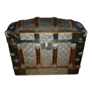 Atique Barrel Top Trunk