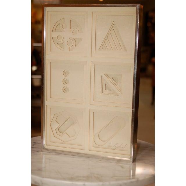 Image of Greg Copeland Mid-Century 3-D Paper Sculpture