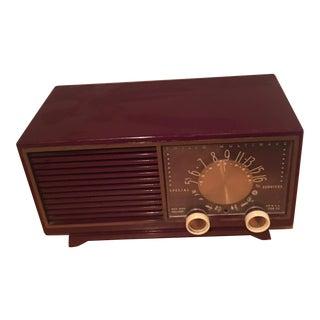 Retro Vintage Bakelite Clock Radio
