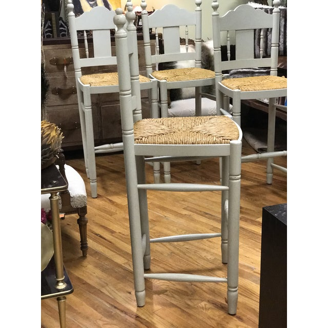 Image of Nantucket Style Bar Stools - Set of 4