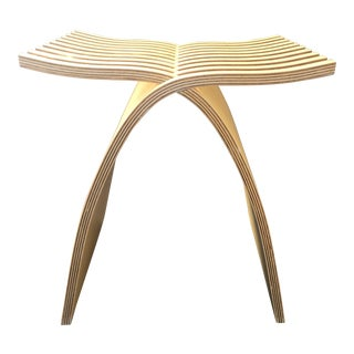 Wooden Capelli Stool
