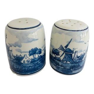 Delft Salt & Pepper Shakers