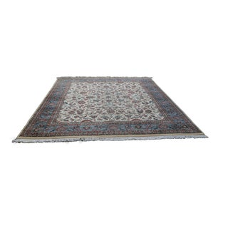 Kashan Carpet From Central Persia - 7′9″ × 10′9″