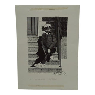 "Gus Stankin ""Sittin' on the Front Steps"" Limited Edition Print"