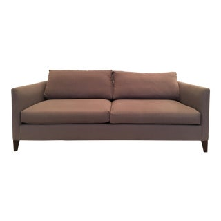 Crate & Barrel Dolphin Gray Klyne Sofa