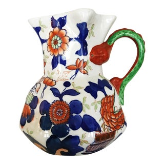 Ironstone China Hydra Jug