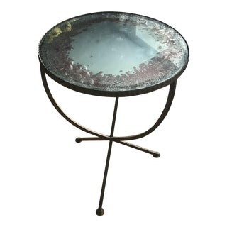 Antique Jules Brass Accent Table
