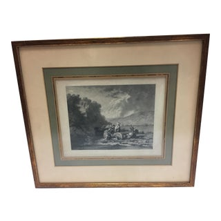 19th Century Goats & Sheep Lithograph