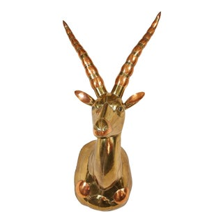 20th Century Sergio Bustamante Antelope Head