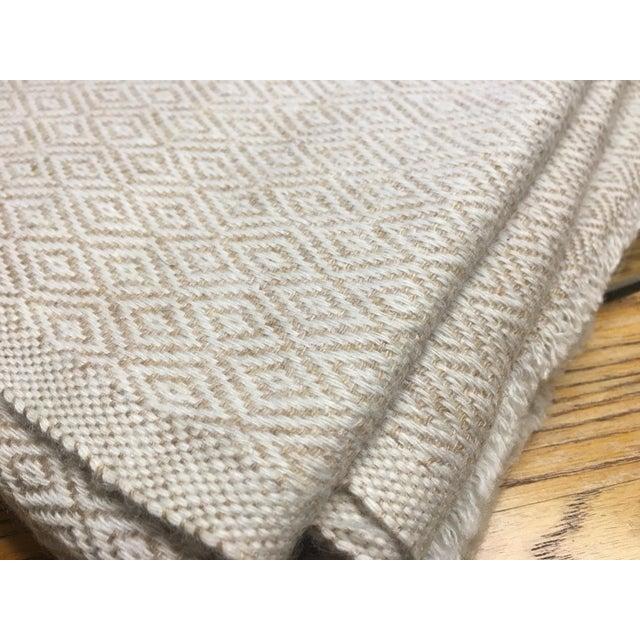 Diamond Design Cashmere Blend Blanket - Image 9 of 9