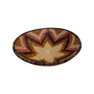 Hand Woven Natural Fiber Large Basket