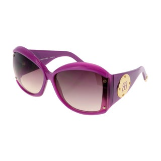 Balenciaga Purple Paparazzi Sunglasses