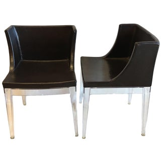 Philippe Starck for Kartell Mademoiselle Cocco Chairs - A Pair