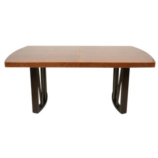 Paul Frankl for Johnson Furniture Company Cork Top Dining Table