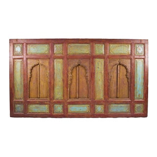 Architectural Arched Window Panel