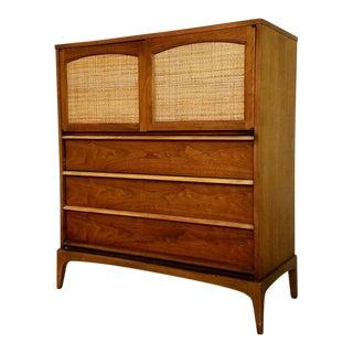 Lane Mid-Century Walnut Dresser