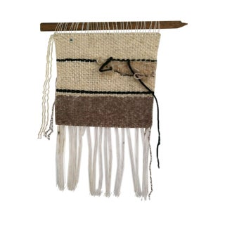 Woven Brown Wall Hanging