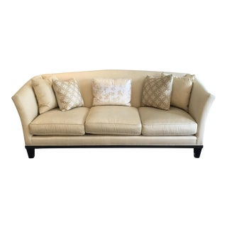 Barbara Barry Sleigh Camel Back Sofa