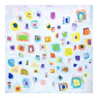 'JiTTERBUG' original abstract painting by Linnea Heide
