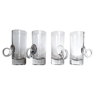 "Crystal Irish Coffee Glasses ""Lenox"" - Set of 4"