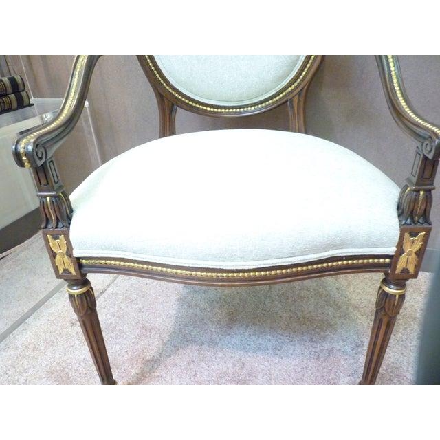 David Barrett Olga Arm Chairs - Set of 10 - Image 3 of 3