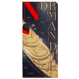 1935 Normandie Boat Brochure