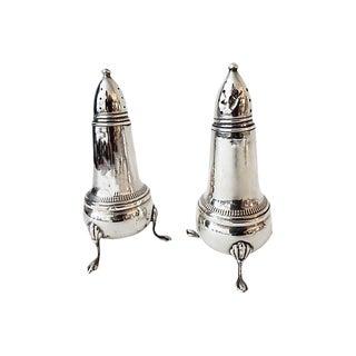 Antique Sterling Salt & Pepper Shakers