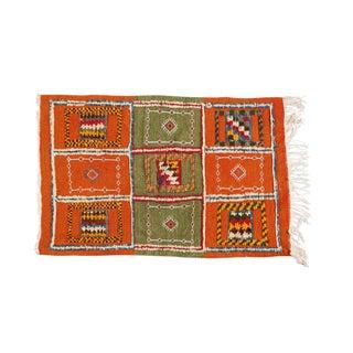 Small Berber Rug- 2′1″ × 3′3″