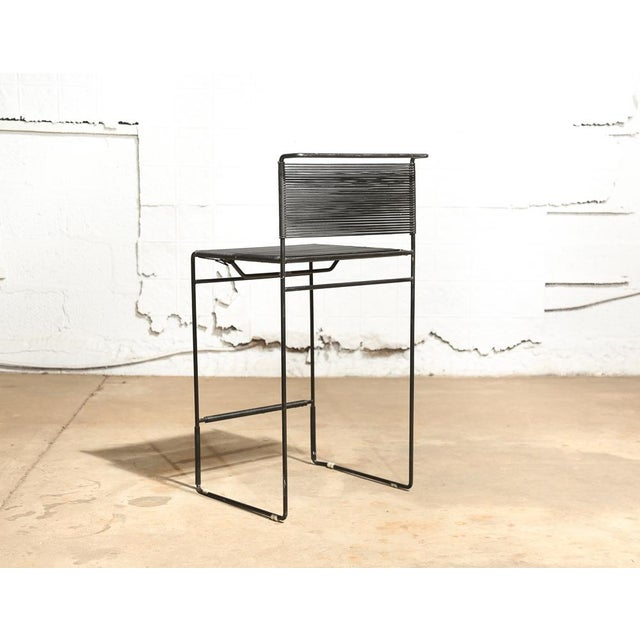 "Giandomenico Belotti for Fly Line ""Spaghetti"" Bar Stools - A Pair - Image 4 of 7"