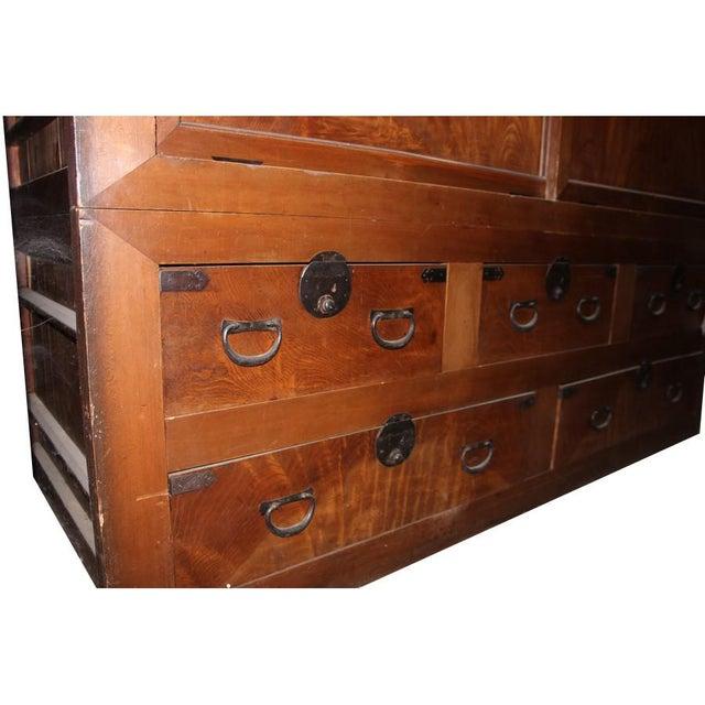 Antique Japanese Futon Dansu - Image 3 of 4