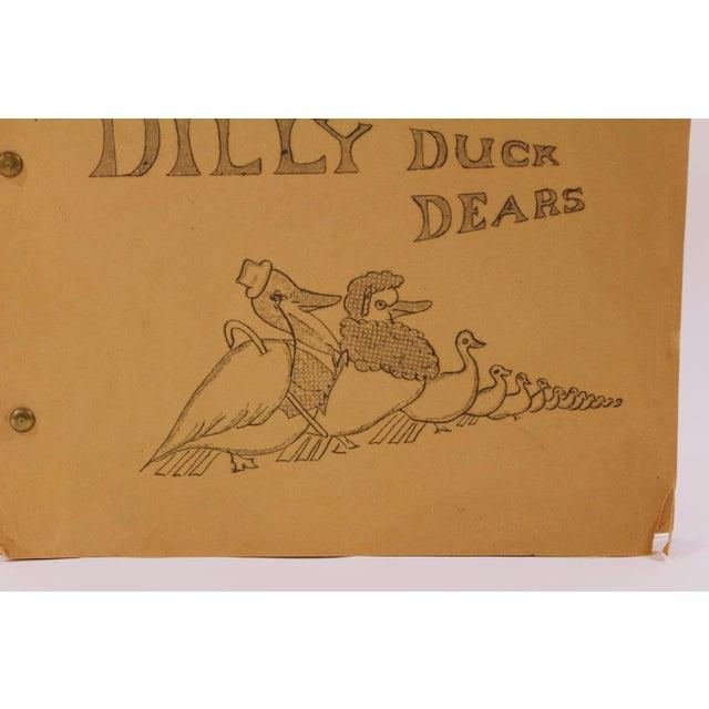 1930s Childrens Book Manuscript | Chairish