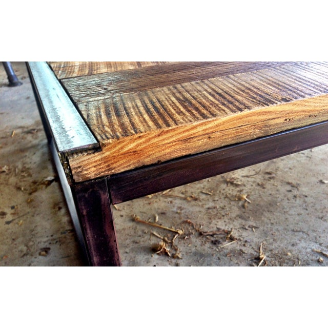 Reclaimed Wood Coffee Table Chicago: Reclaimed T&G Barnwood Coffee Table