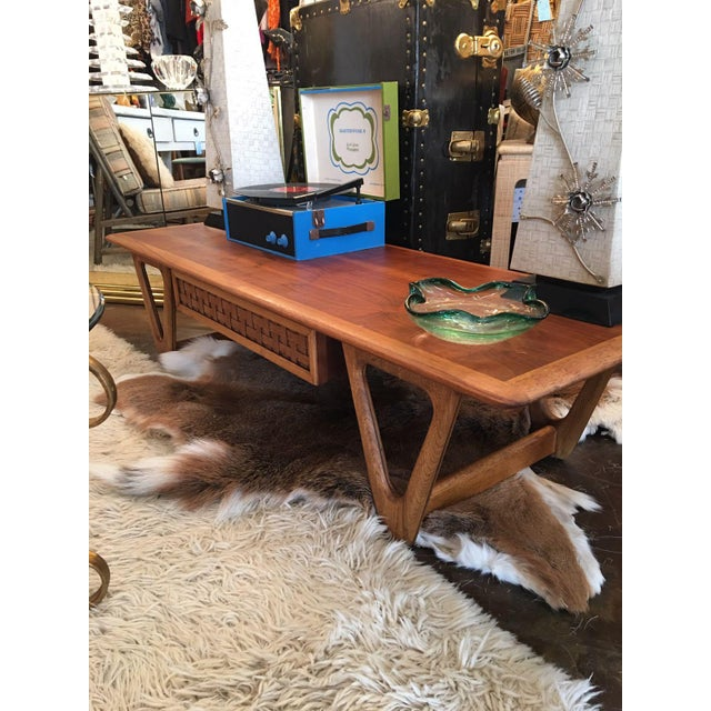 Image of Lane Wooden Coffee Table