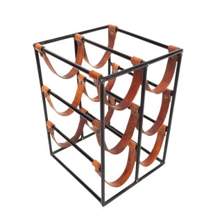 Arthur Umanoff 6 Bottle Wine Rack