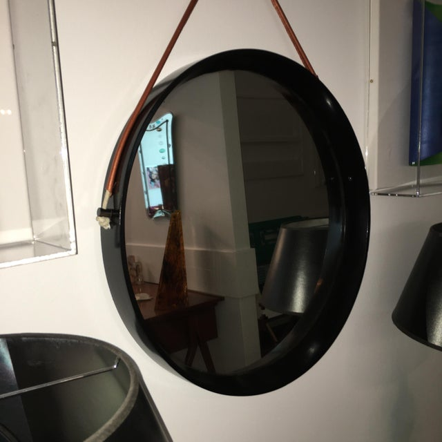 Mirror in the Style of Jacques Adnet - Image 5 of 6