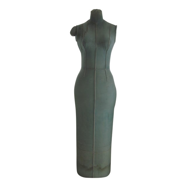 Image of Unusual Full Body Antique Mannequin Form