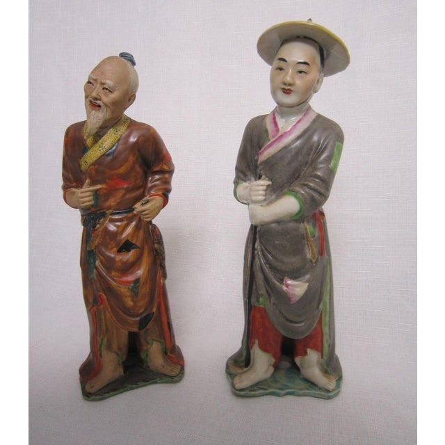 Chinese Figures - A Pair - Image 2 of 5